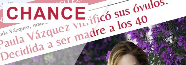 Paula Vázquez madrina de Clínicas EVA