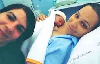 """""""Con muchas ganas y mucha paciencia conseguimos quedarnos embarazadas a la 1ª"""""""